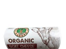 Organic Larder Goat Cheese Garlic 100g