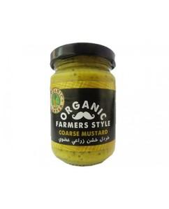 Organic Larder Mustard Farmers Style 145ml