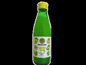 Organic Larder Lemon Juice 250ml