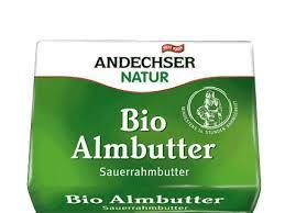 Andechser Natur Sour Cream Butter 250g