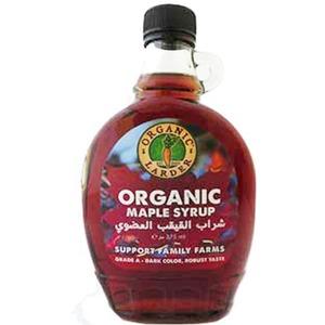 Organic Larder Maple Syrup Grade A Dark 375ml