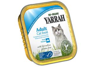 Yarrah Cat Food Chunks Fish Mackerel 100g