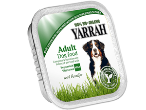 Yarrah Adult Dog Food Veg Chunks 150g