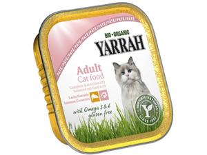 Yarrah Cat Food Pate With Salmon & Shrimp 100g