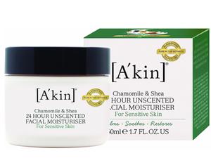 Akin Unscented 24 Hour Pure Moisture 50ml