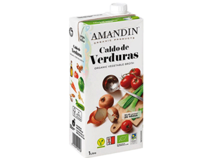 Amandin Vegetable Stock 1L