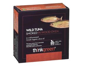 Thinkgreen Smoked Tuna In Olive Oil 160g