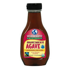 Wholesome Sweeteners Raw Blue Agave 333g