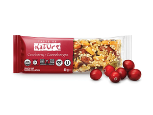 Taste Of Nature Cranberry 40g