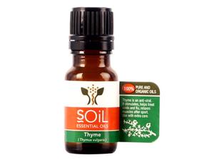 Soil Organic Thyme Oil 10ml