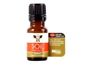 Soil Organic Vetiver Oil 10ml