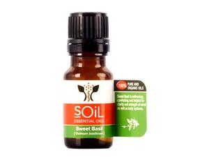 Soil Organic Basil Oil 10ml
