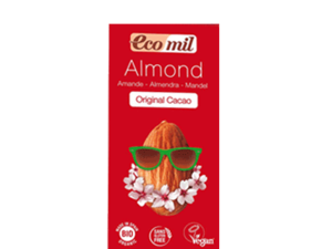 Ecomil Almond Drink Original Cacao With Agave 1L
