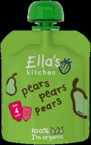 Ellas Kitchen Pears Pears Pears 70g