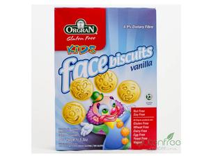 Orgran Selfies Kids Vanilla  Biscuits 150g