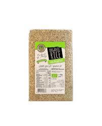Organic Larder Long Brown Rice 1kg