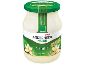 Andechser Mild Vanilla Yoghurt 3.7% 500g
