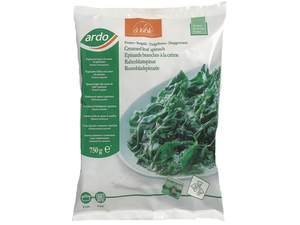 Ardo Creamed Leaf Spinach 600g