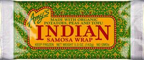 Amys Indian Samosa Wrap 142g