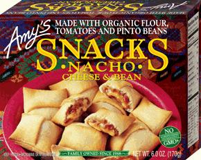 Amys Nacho Snacks 170g