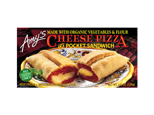 Amys Cheese Pizza In A Pocket Sandwich 128g