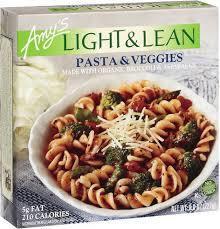 Amys Light & Lean Pasta & Veggies Bowl 227g