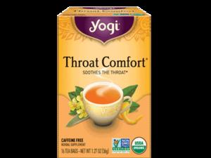Yogi Throat Comfort Tea 36g