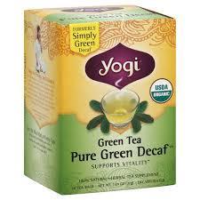Yogi Pure Green Decaffeinated Tea 31g