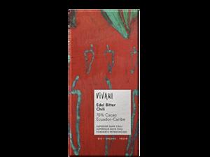 Vivani Dark Chocolate With Chili 100g