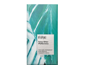Vivani Dark Filled With Peppermint Chocolate 100g