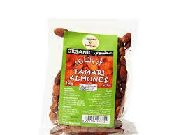 Organic Larder Tamari Almonds 150g