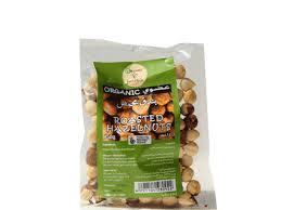 Organic Larder Roasted Hazelnuts 150g
