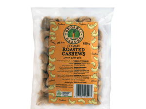 Organic Larder Roasted Cashew 150g