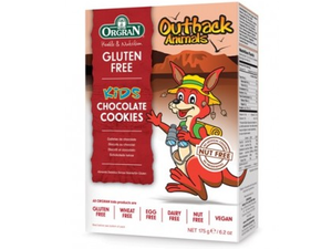 Orgran Outback Animals Chocolate Cookies 175g
