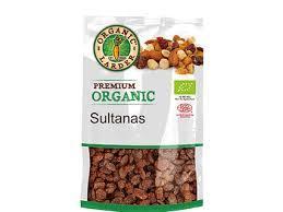 Organic Larder Sultanas 250g