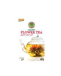 Organic Larder Flower Tea 40g