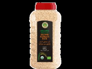 Organic Larder Brown Basmati Rice 4.5kg
