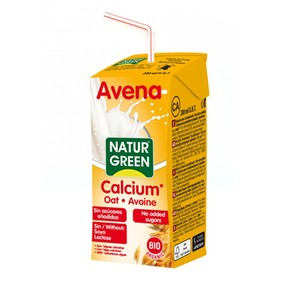 Naturgreen Oat Drink With Calcium 200ml