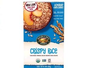 Natures Path Gf Crispy Rice 284g