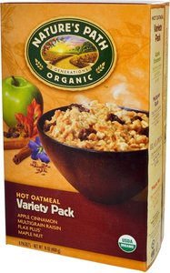 Natures Path Hot Oatmeal Variety Pack 400g