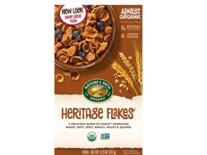 Natures Path Heritage Flakes 375g