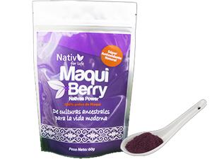 Nativ For Life Maqui Powder 60g