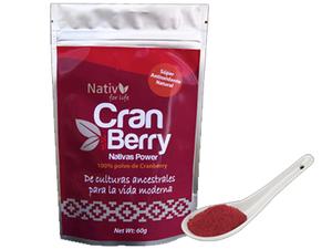 Nativ For Life Cranberry Powder 60g