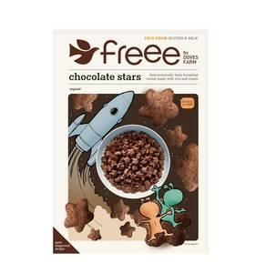 Doves Farm Chocolate Stars 300g