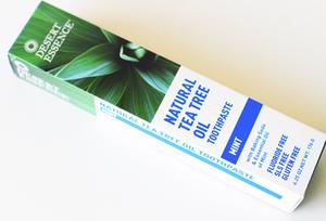Dessert Essence Tea Tree Oil Toothpaste With Mint 1bunch