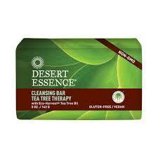 Dessert Essence Cleansing Bar Tea Tree Therapy 142g