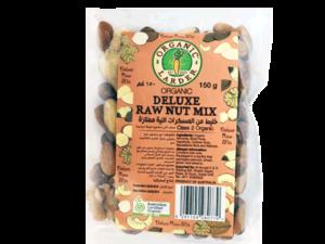 Organic Larder Deluxe Raw Nut Mix 150g