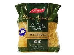 Buontempo Pasta  Rice Spirals 500g