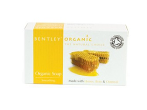 Bentley Smoothing Soap Bar With Honey Bran And Oatmeal 150g