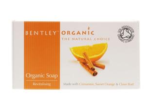 Bentley Revitalizing Soap Cinnamon Sweet Orange & Clove Bud 150g